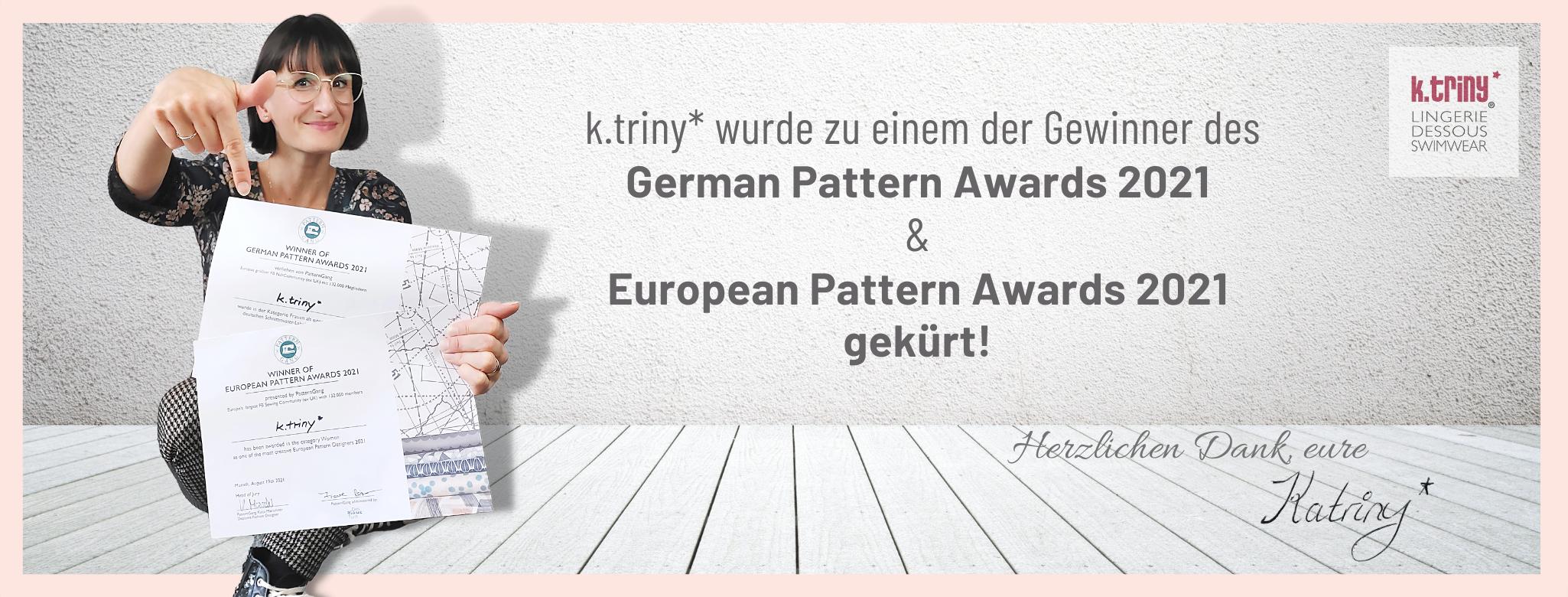 Pattern Awards, k.triny*